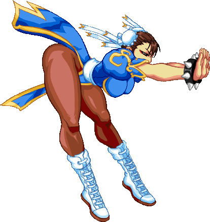 Doesn T Chun Li Look So Ready In These Postions