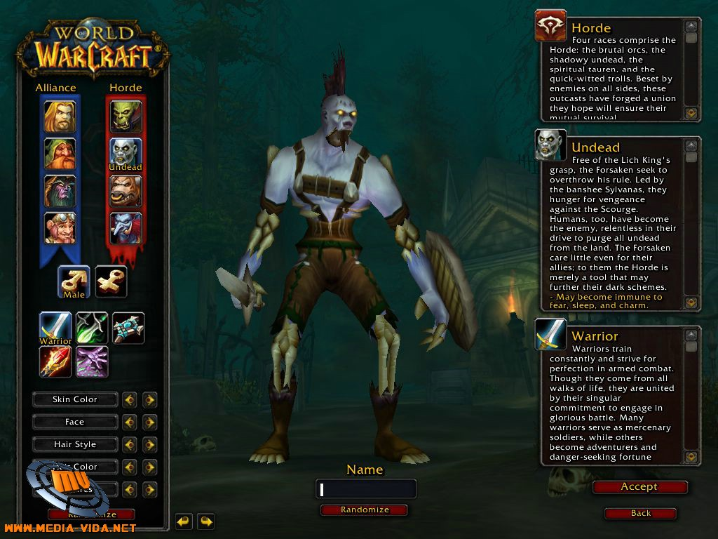 World of Warcraft Undead